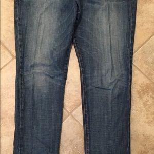 JOE'S Provocateur Jeans w/ Metallic Mock Belt 32